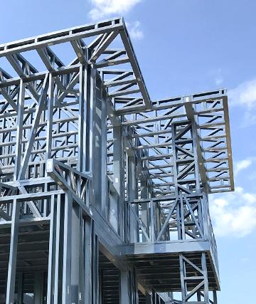 etaje, atajari, podele cu structura usoara din otel