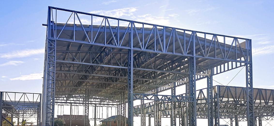 hale industriale, de depozitare, agricole pe structura metalica usoara