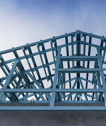mansardari construite pe structura usoara