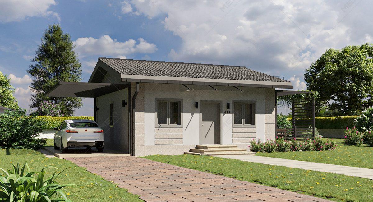 casa mica modulara