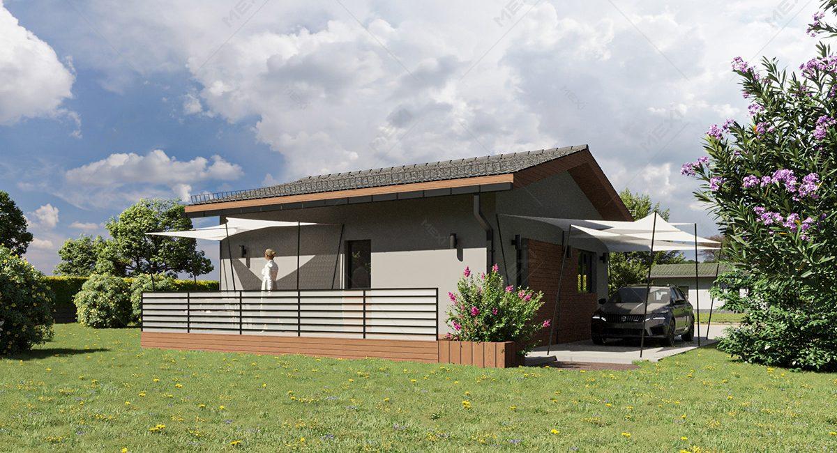 casa accesibila din module prefabricate