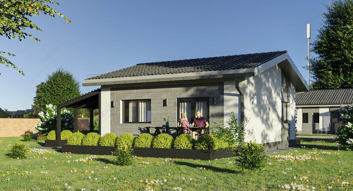 proiect casa mica modulara