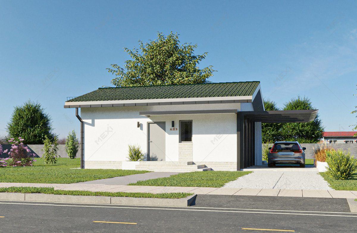 proiect casa accesibila pe sistem constructiv modular