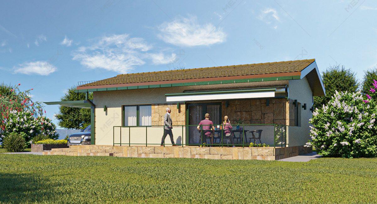 casa pe sistem constructiv modular