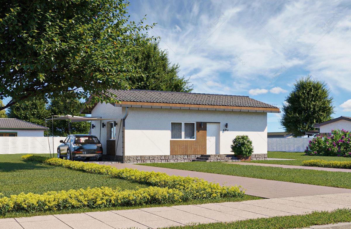 casa din module prefabricate tipizate