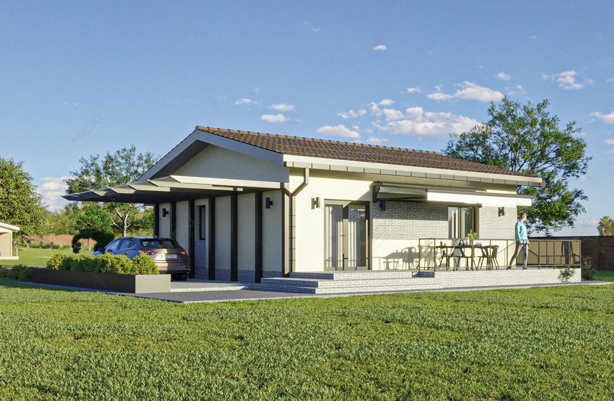 casa ieftina pe sistem modular