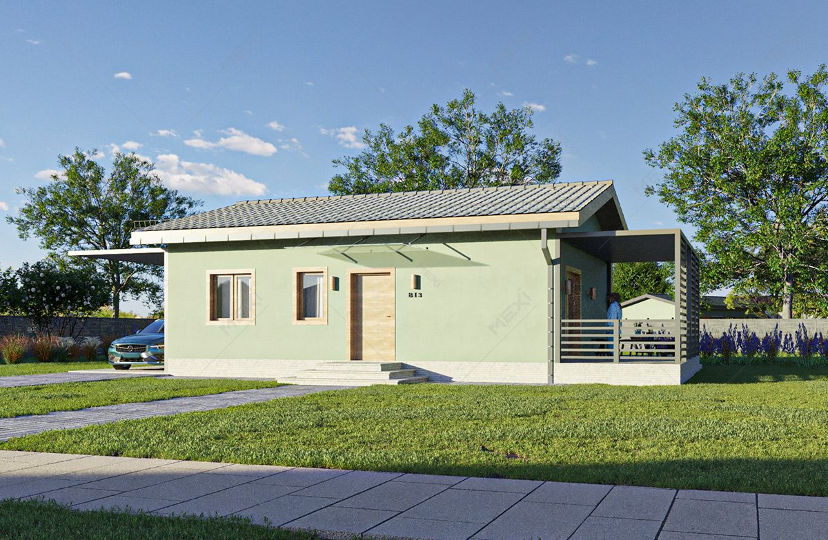 proiect casa modulara