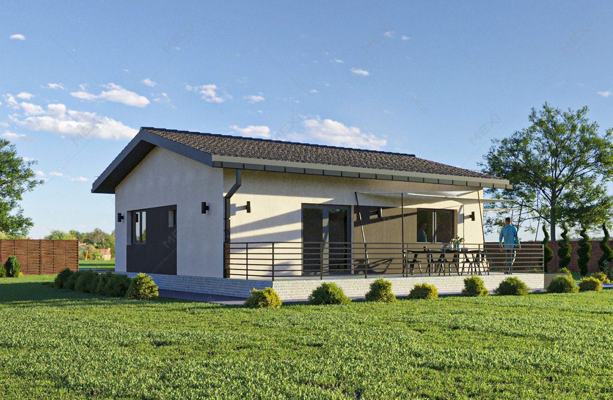 casa din module tipizate si prefabricate