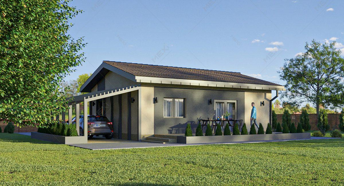proiect de casa modulara