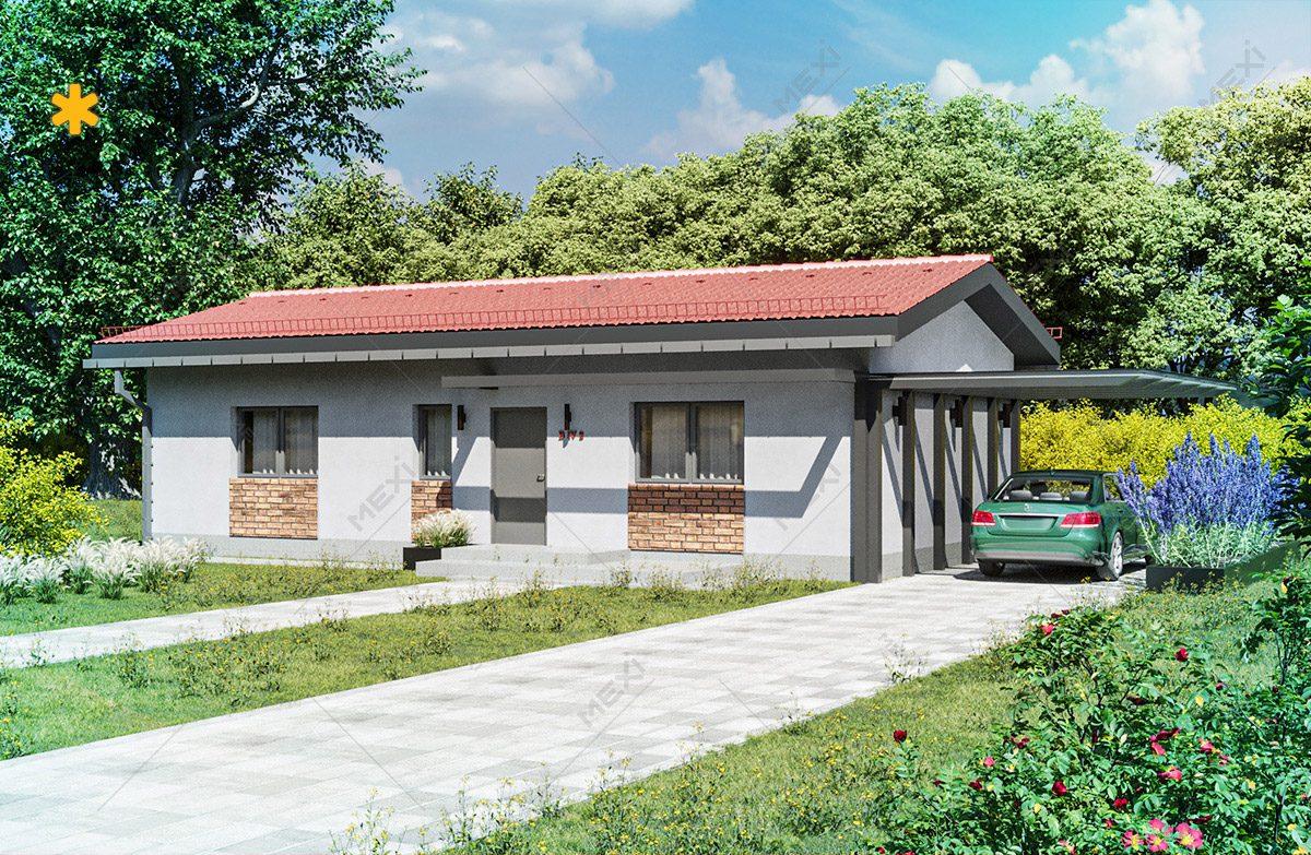 proiect de casa pe sistem modular