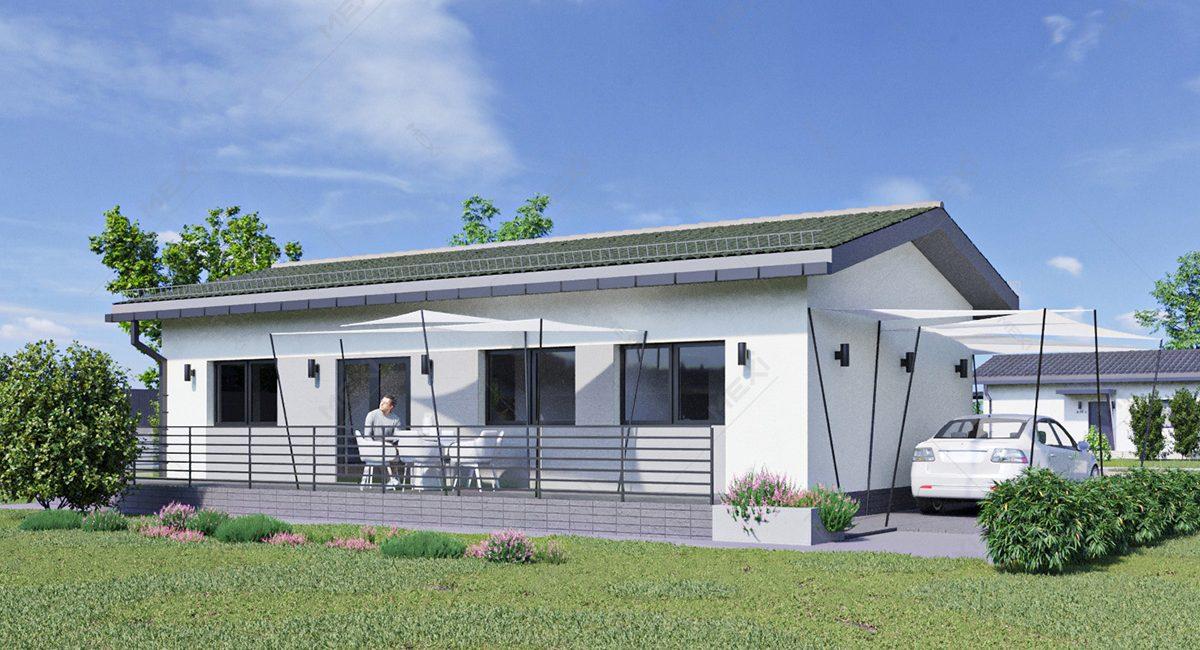 casa din module prefabricate