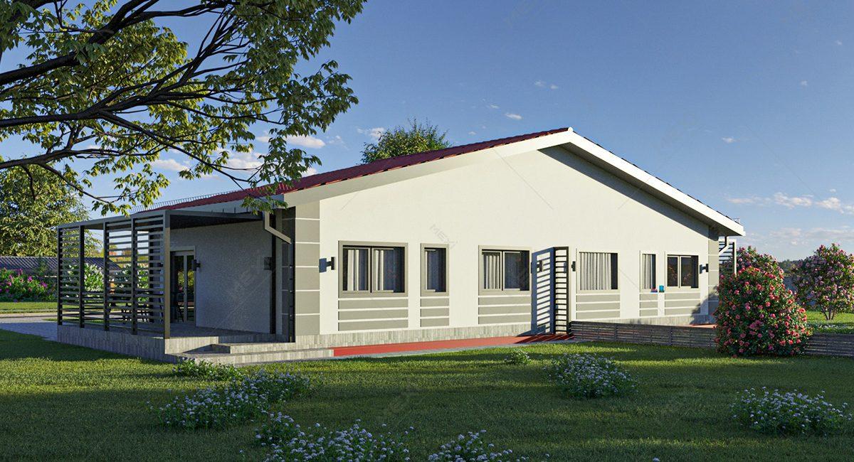 proiect casa duplex modulara