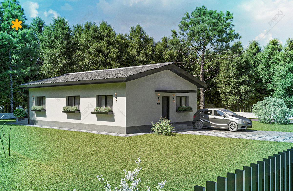 proiect de casa in sistem de constructie modulara
