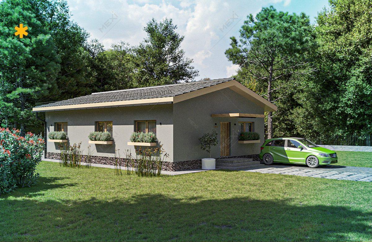 casa proiectata pe sistem modular