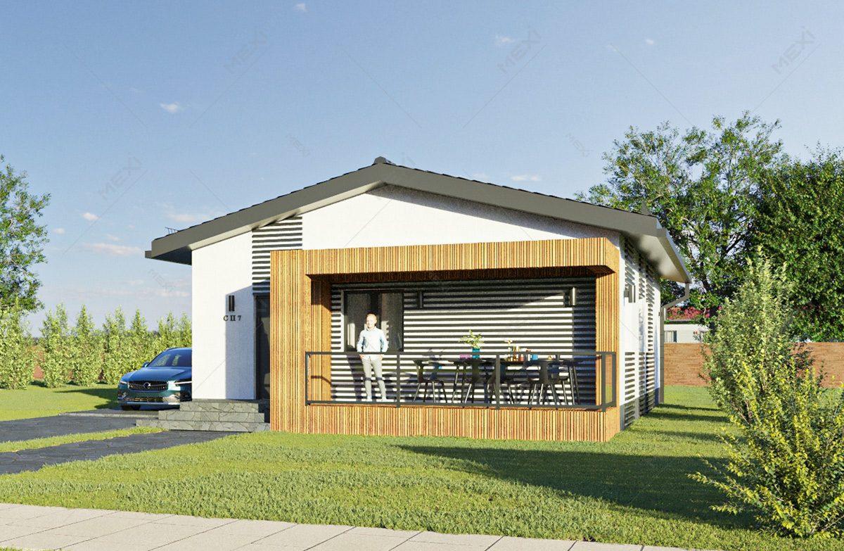 casa pe sistem modular