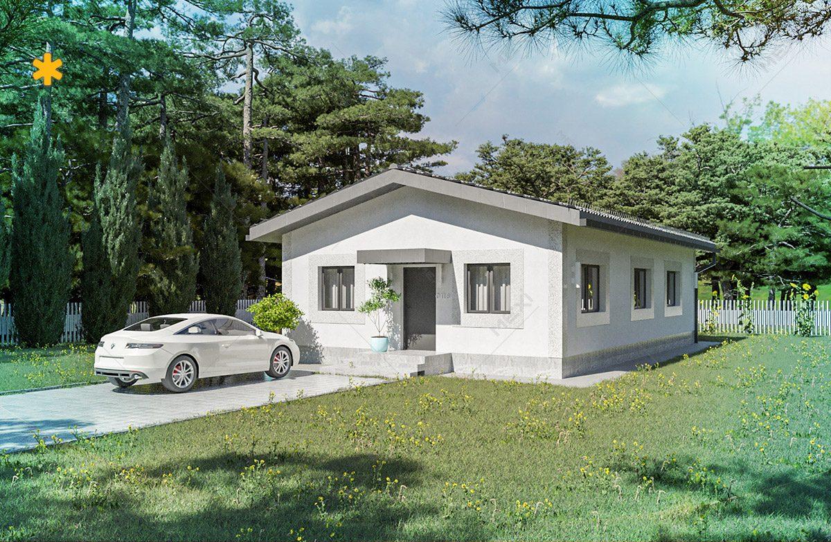 proiect de case tipizate - sistem de construire modular