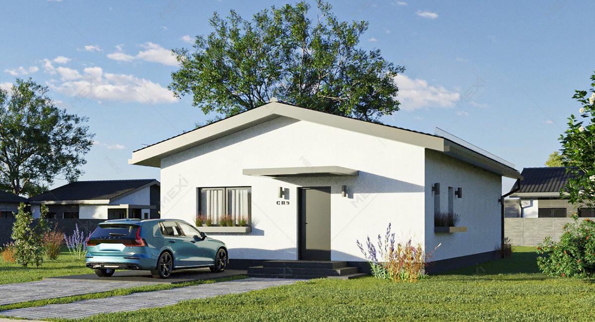 casa din module tipizate