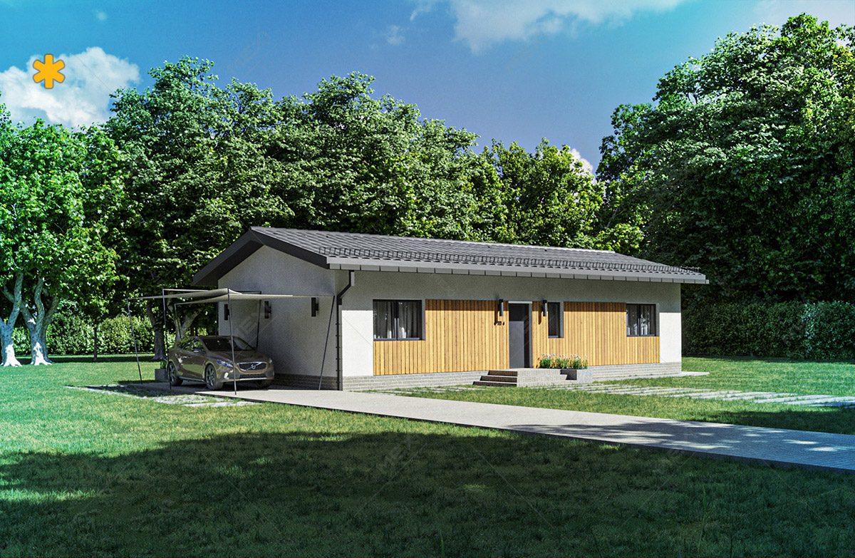 proiect modular pentru casa