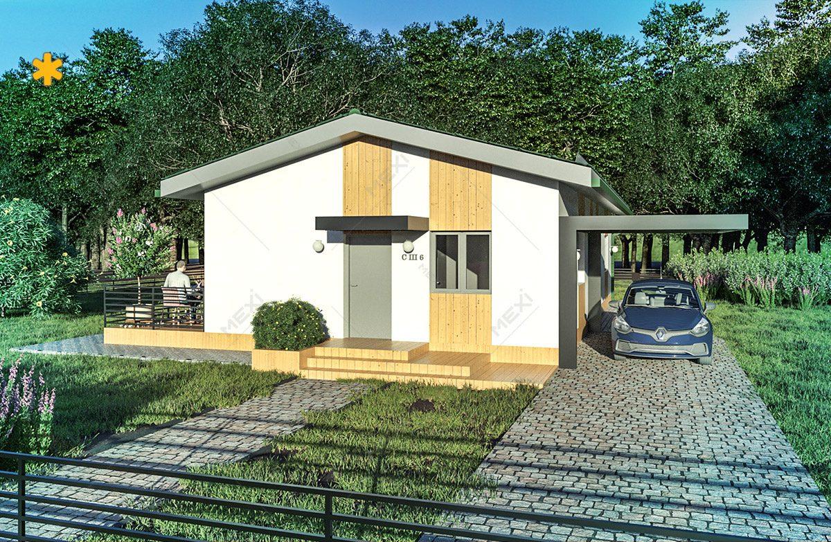 proiect de casa pe sistem modular de constructie