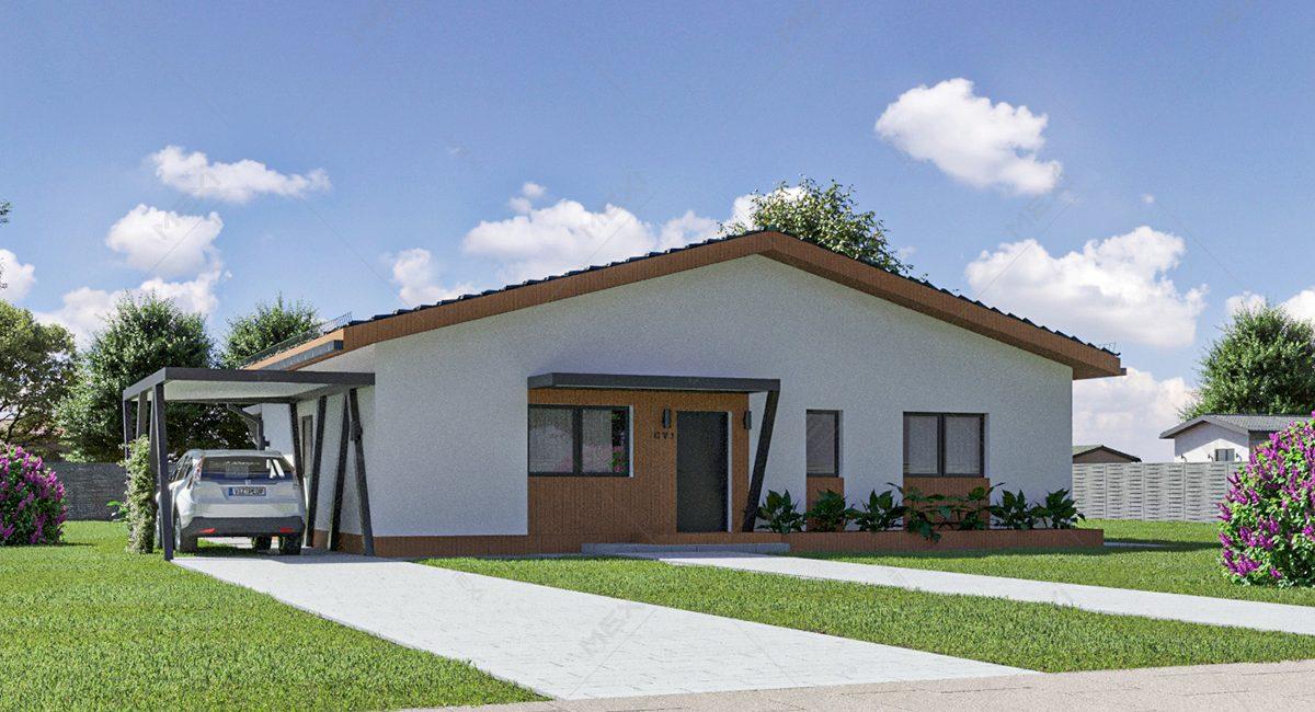 casa din module