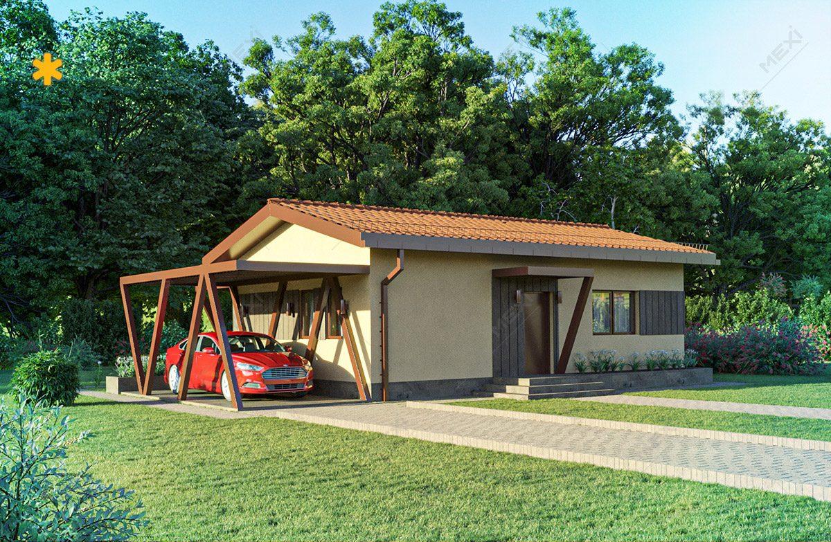 proiect casa in sistem de constructie modulara