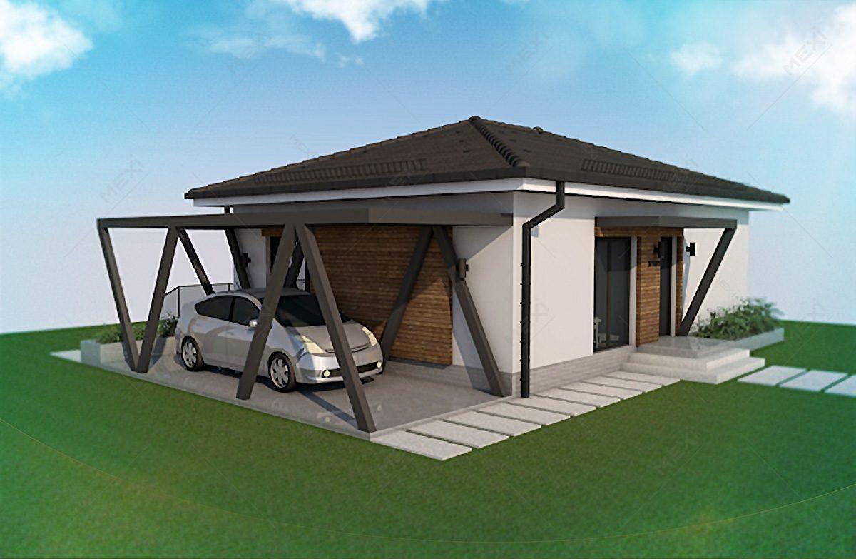casa tipizata pe sistem modular