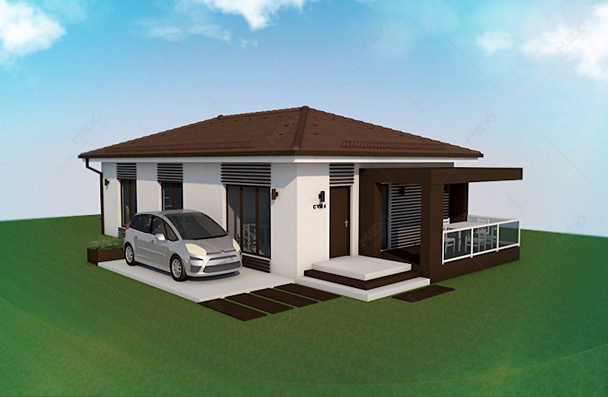 casa pe sistem de constructie modulara