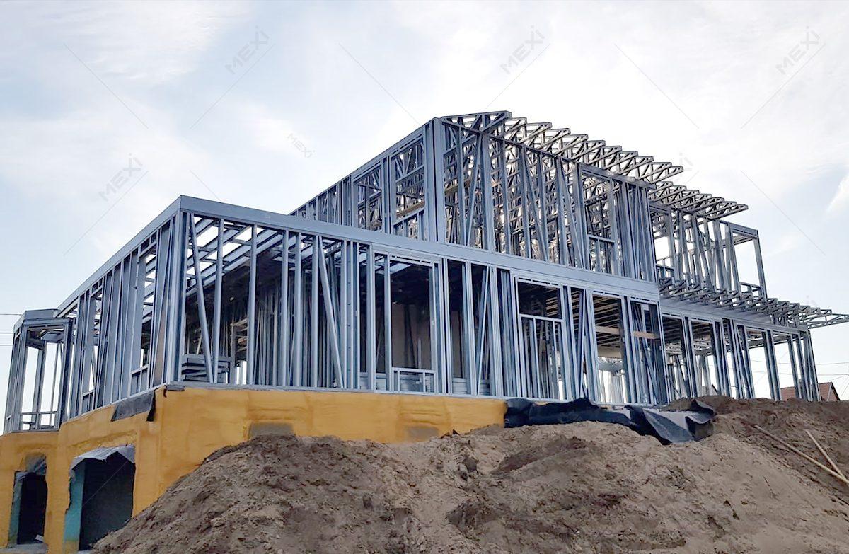 casa pe sistem de constructie tip framing