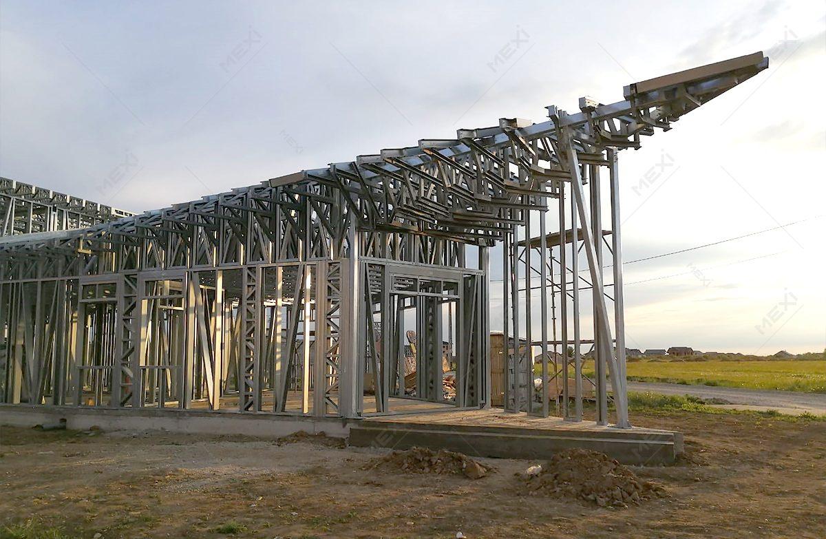 clinica moderna costruita pe structura metalica