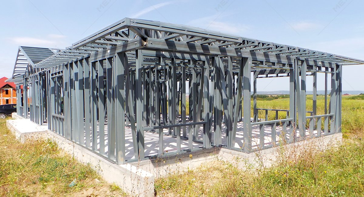 constructie de casa din profile metalice MEXI