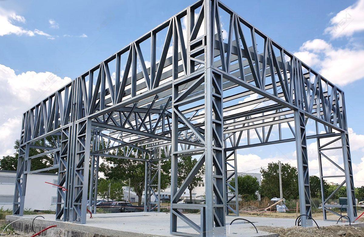 construire hala pentru spalatorie din profile metalice MEXI