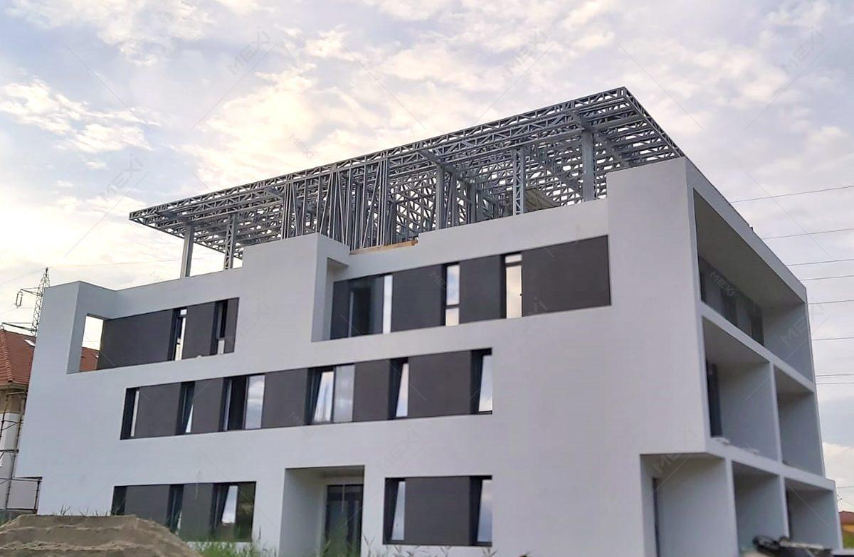 etajare casa pe structura metalica MEXI
