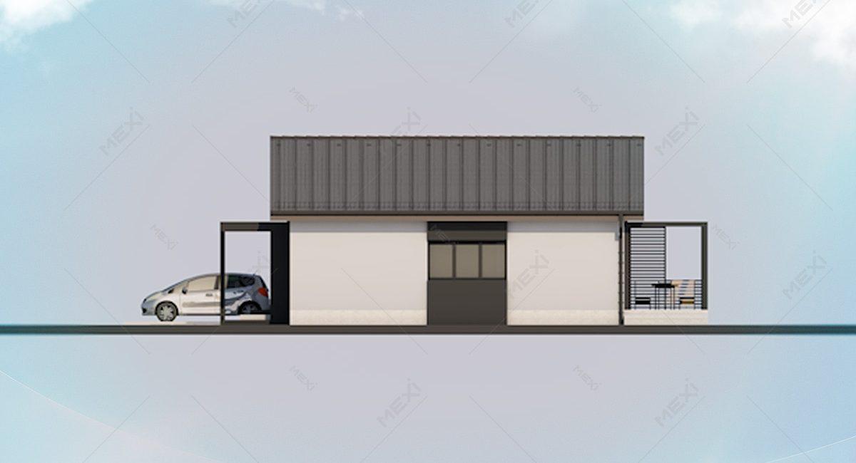 proiect casa din module