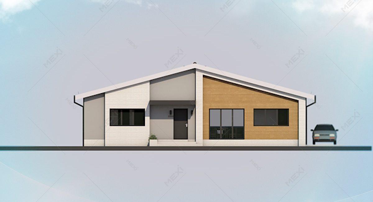 fatada casa modulara