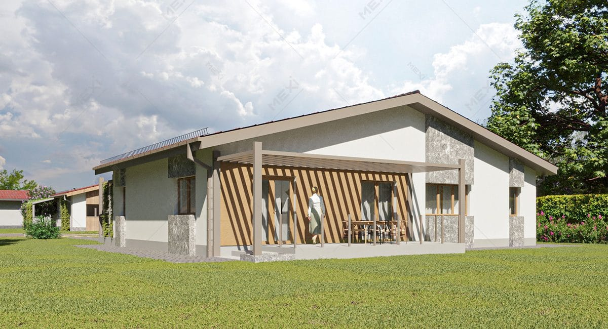 proiect 3D casa modulara