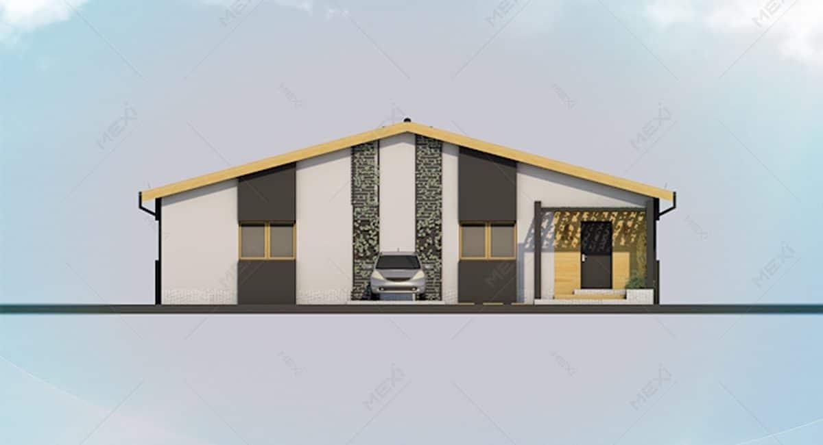 proiect fatada casa modulara